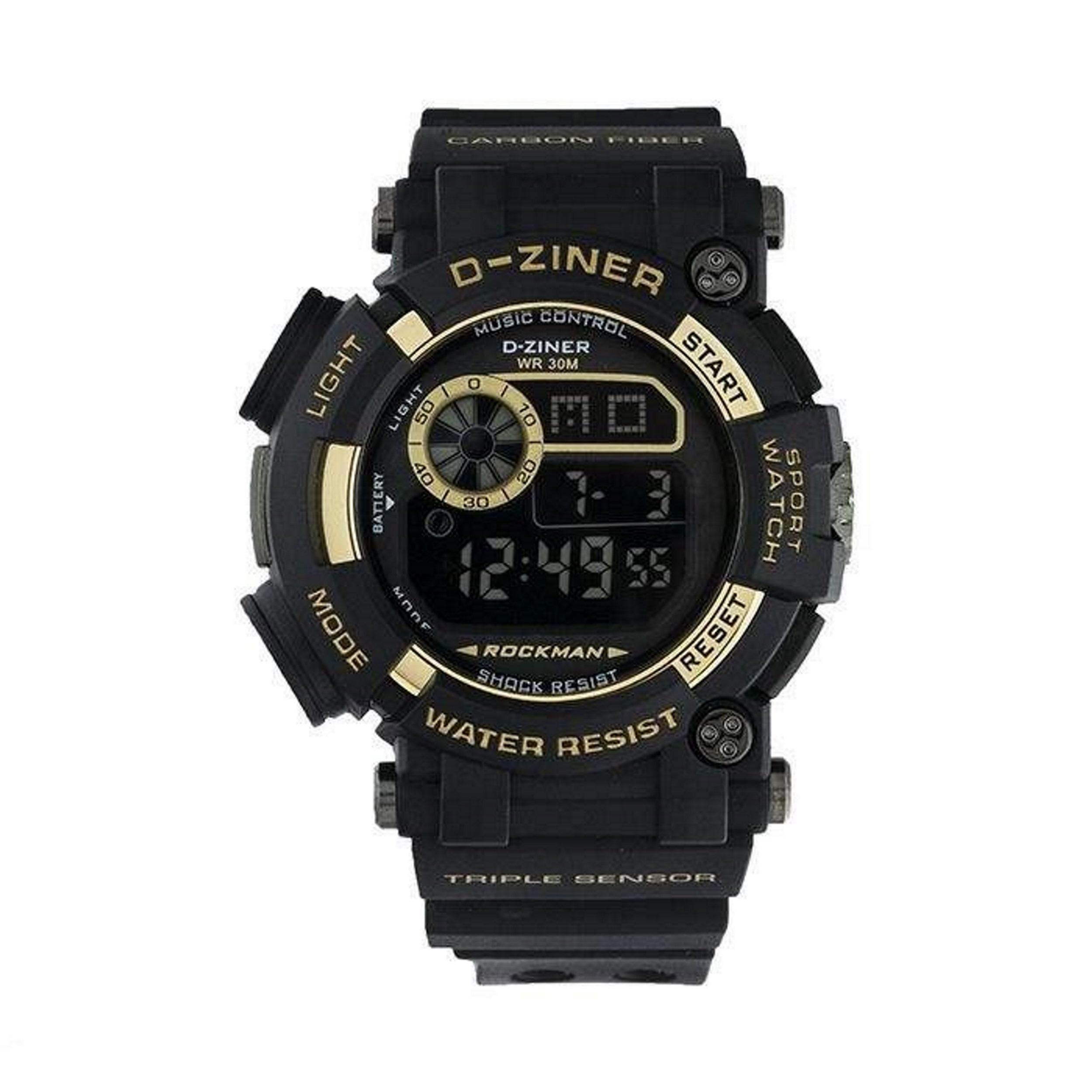 کد تخفیف                                      ساعت مچی دیجیتال مردانه دیزاینر کد D-Z888