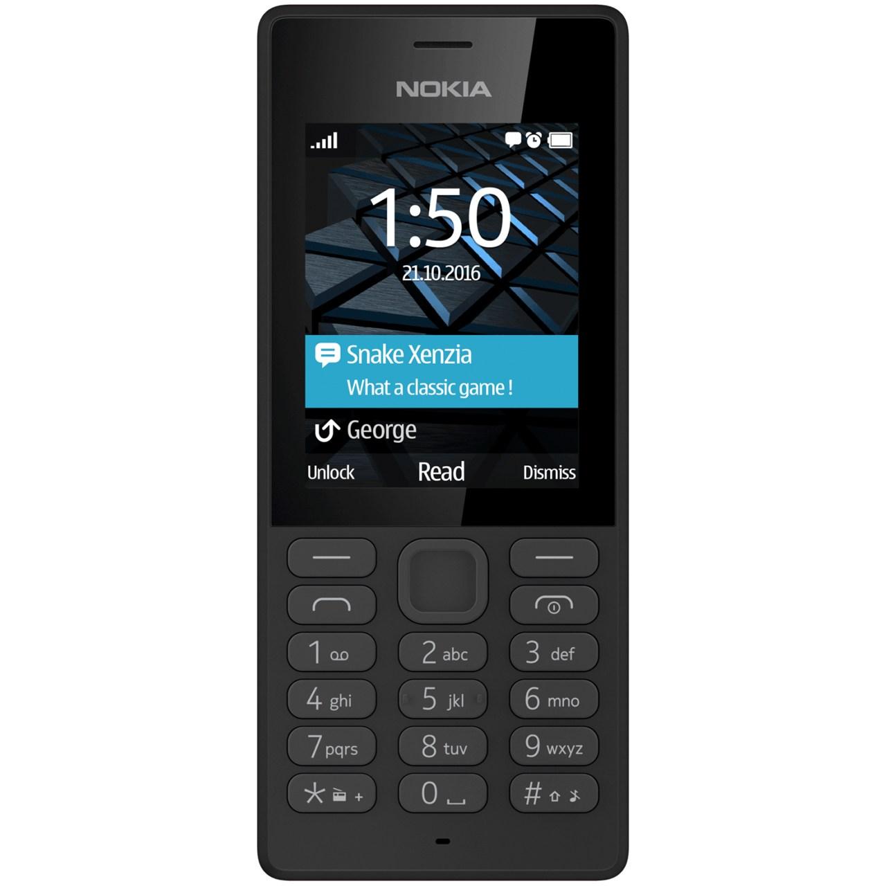 گوشی موبایل نوکیا مدل 150 دو سیم کارت - با برچسب قیمت مصرف کننده