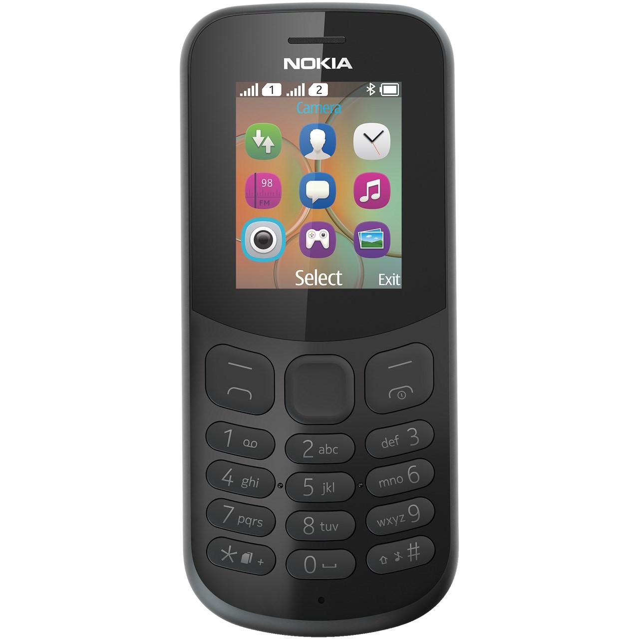 گوشی موبایل نوکیا مدل  (2017)130 دو سیم کارت - با برچسب قیمت مصرف کننده