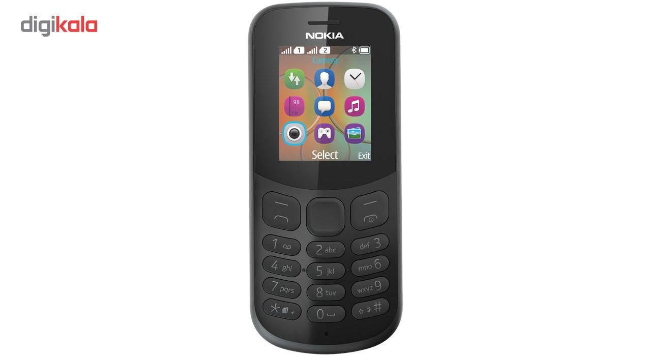 گوشی موبایل نوکیا مدل  (2017)130 دو سیم کارت - با برچسب قیمت مصرف کننده                             Nokia 130 (2017) Dual SIM Mobile Phone