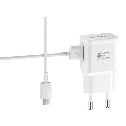 شارژر دیواری سامسونگ مدل EP-TA20EWE به همراه کابل تبدیل USB-C مدل EP-DG950CBE