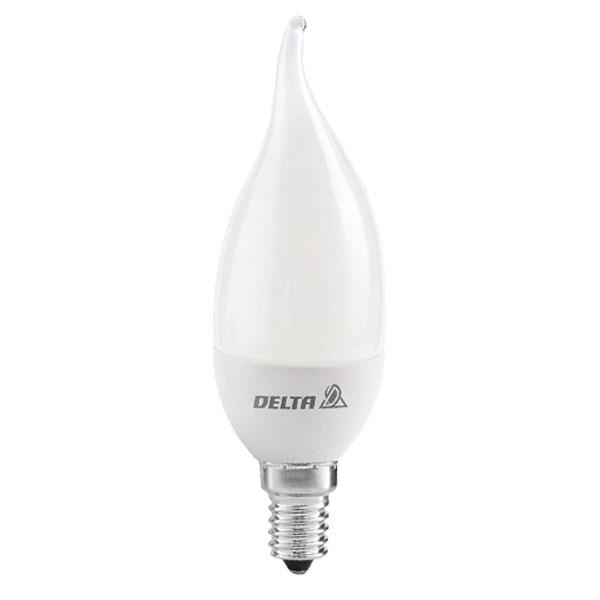 لامپ کم مصرف 11 وات دلتا طرح اشک پایه E14