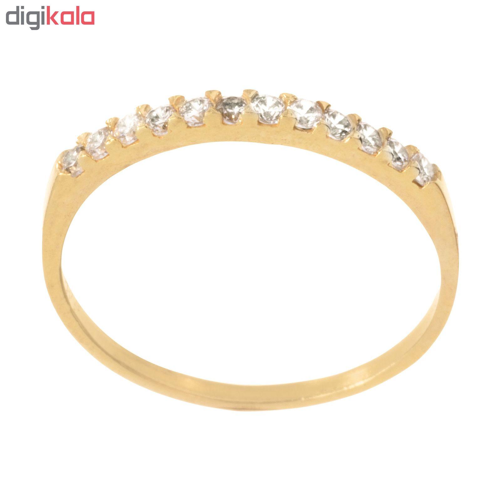 انگشتر طلا 18 عیار زنانه کد G906 thumb 2 1
