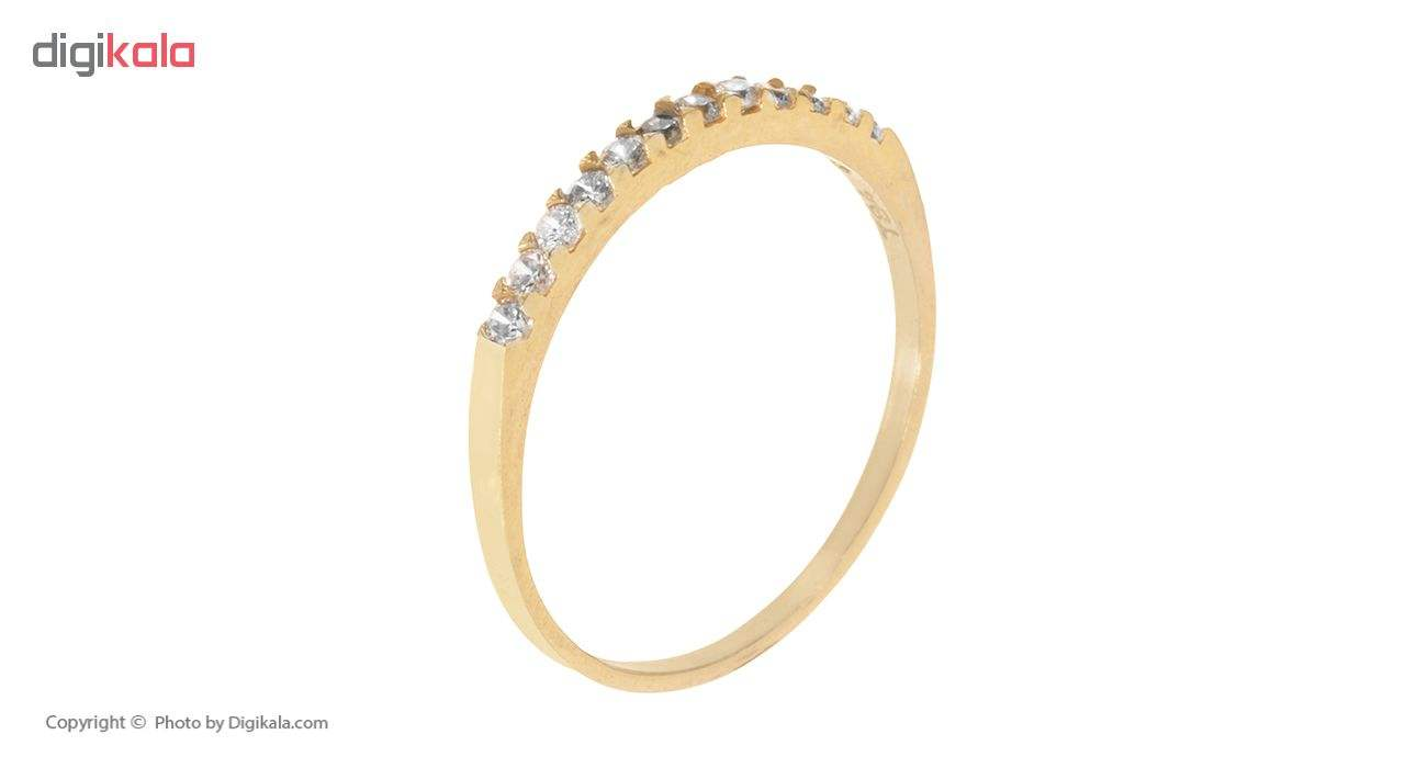 انگشتر طلا 18 عیار زنانه کد G906 thumb 2 2