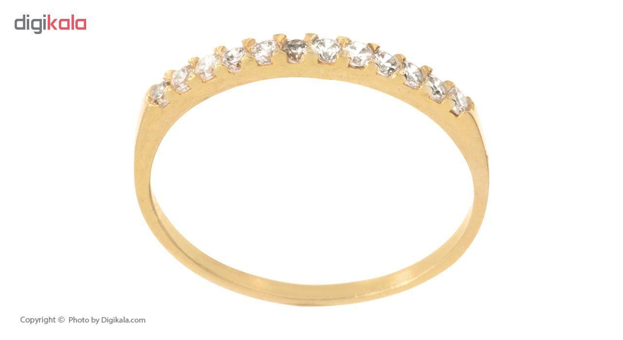 انگشتر طلا 18 عیار زنانه کد G906 thumb 2 3