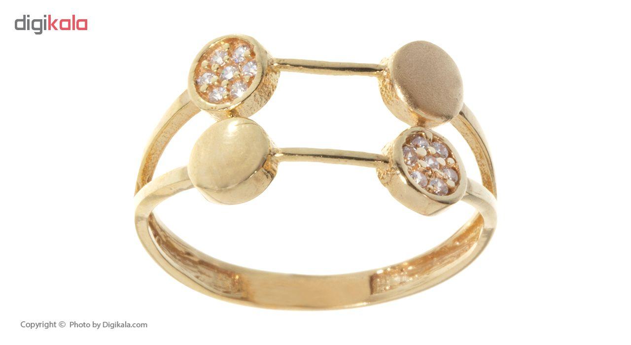 انگشتر طلا 18 عیار زنانه کد G913