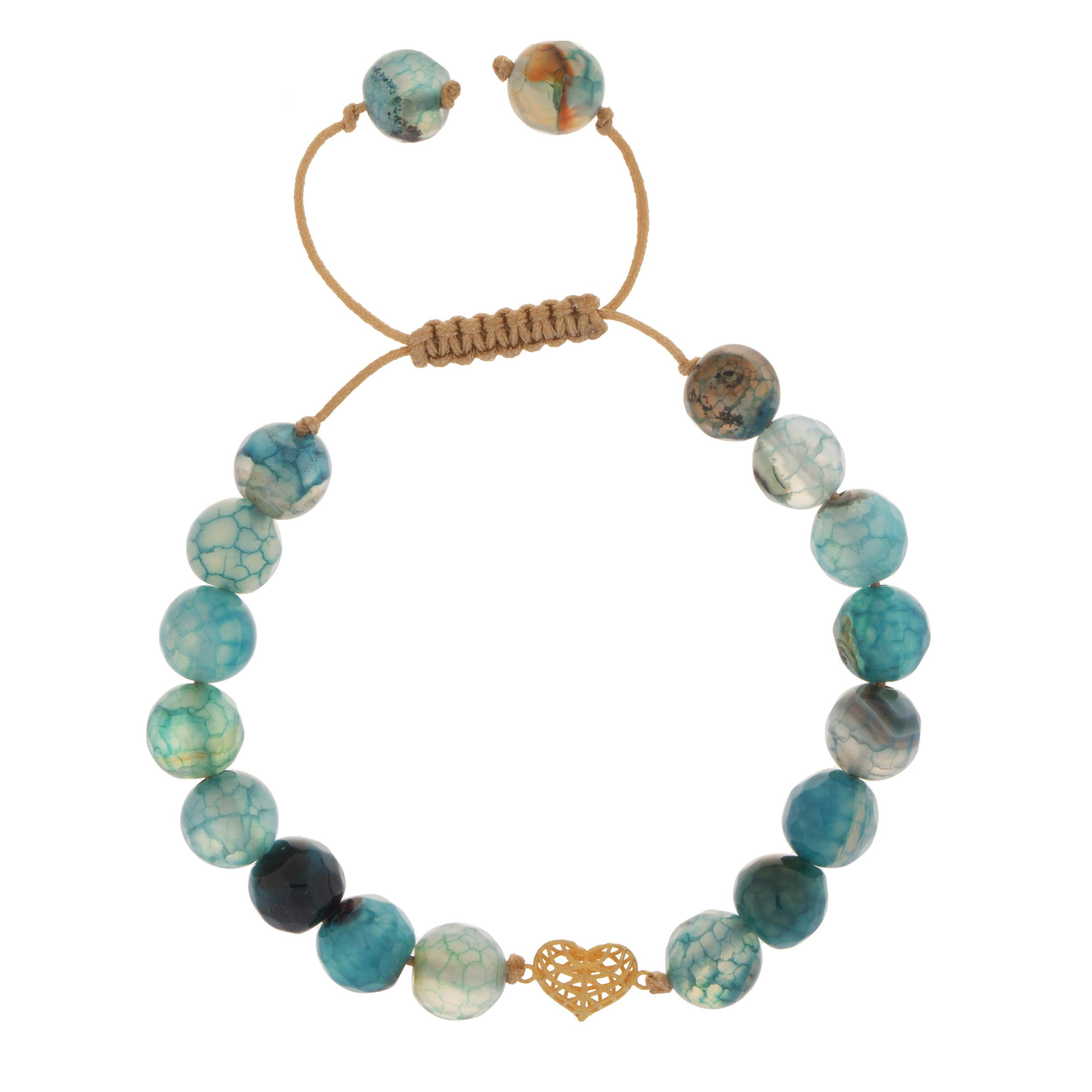 دستبند طلا 18 عیار دخترانه کد 224