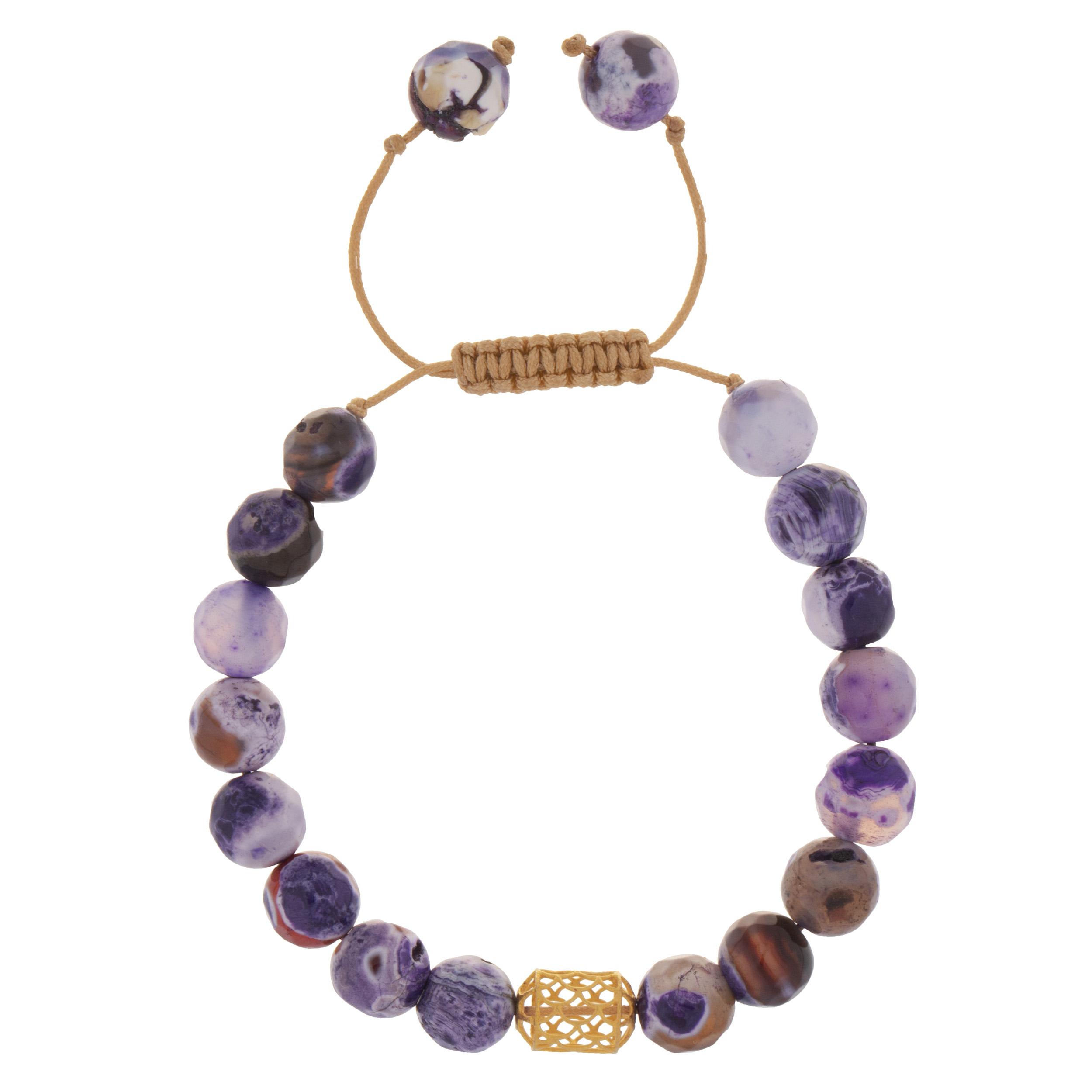 دستبند طلا 18 عیار دخترانه کد 225