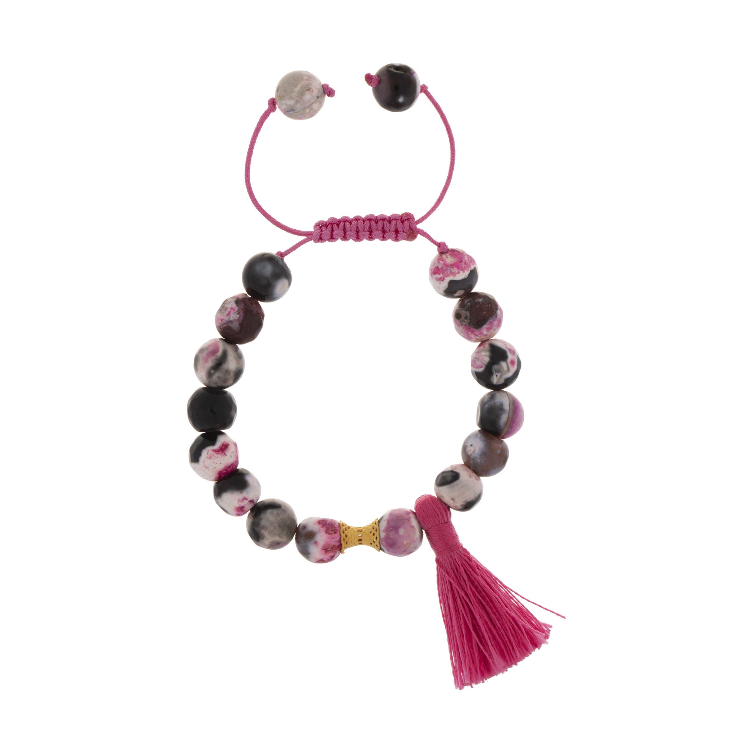 دستبند طلا 18 عیار دخترانه کد 227