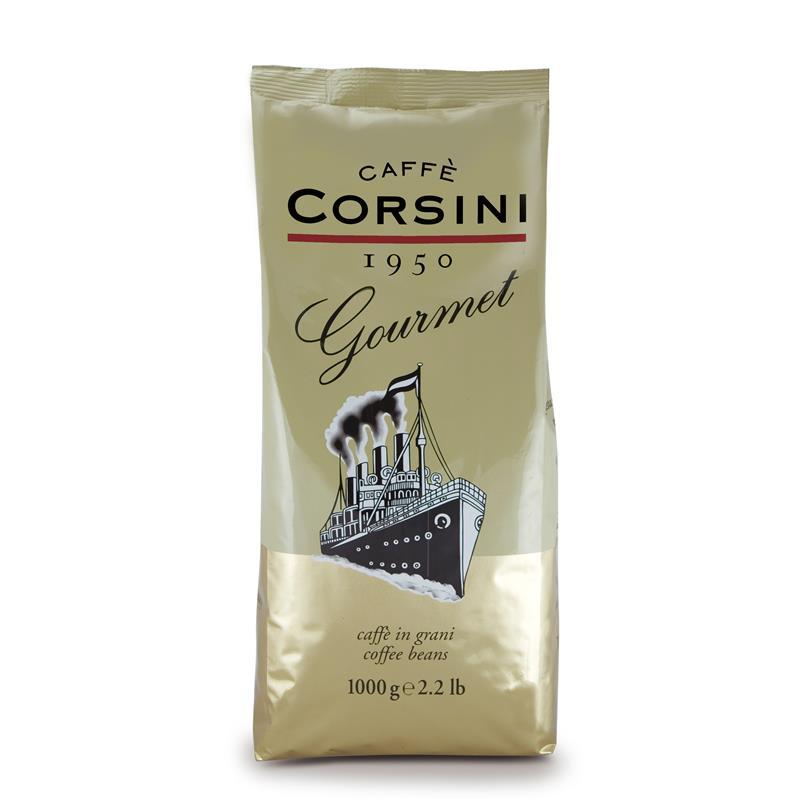 دانه قهوه کورسینی مدل Gourmet مقدار 1000 گرم
