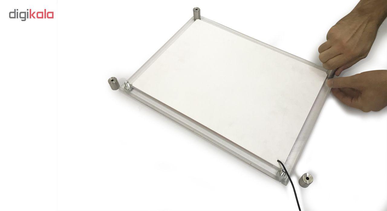 قیمت                      تابلو لایت باکس مدل C کد 3090