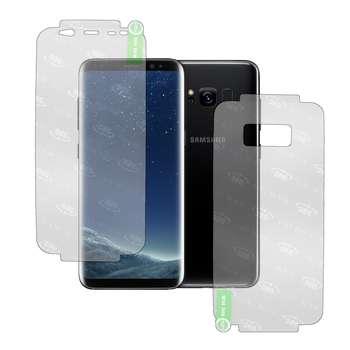 محافظ صفحه نمایش و پشت گوشی مدل GS-FB360 مناسب برای گوشی موبایل سامسونگ Galaxy S8