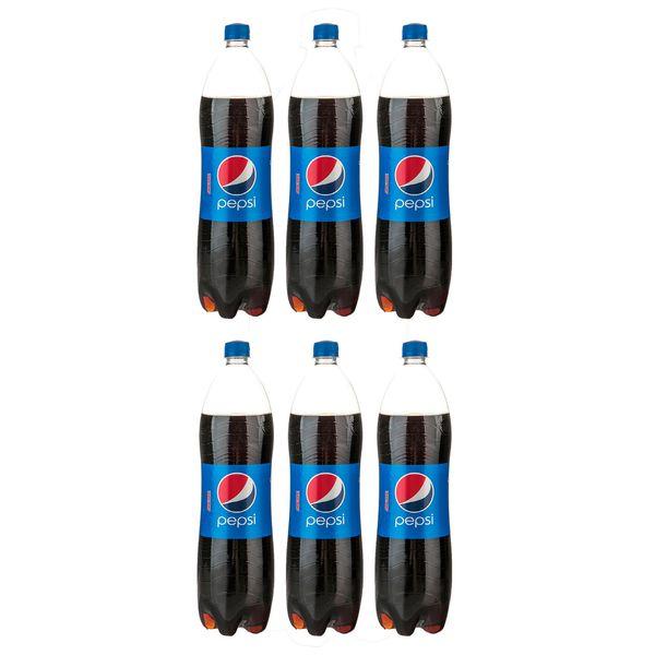 نوشابه کولا پپسی - 1.5 لیتر بسته 6 عددی