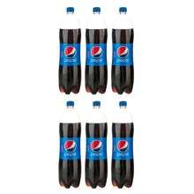 نوشابه کولا پپسی حجم 1.5 لیتر بسته 6 عددی