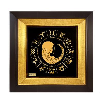 Photo of تابلو ورق طلا مارک گلد طرح نماد ماه تولد شهریور