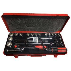 مجموعه 24 عددی آچار و سری بکس وی بی دبلیو مدل 585DE