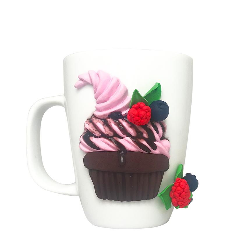 عکس ماگ طرح کاپ کیک