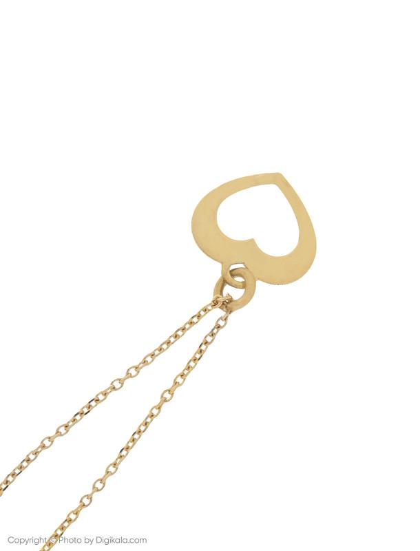 آویز ساعت طلا 18 عیار زنانه میو استار مدل WTC178