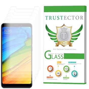 محافظ صفحه نمایش تراستکتور مدل GLS مناسب برای گوشی موبایل شیائومی Redmi 5 بسته 5 عددی