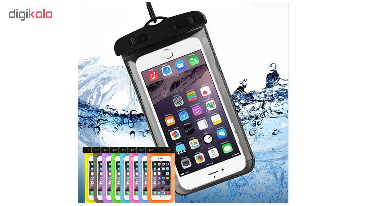 کیف ضد آب مدل IP-X8 مناسب برای گوشی موبایل تا سایز 6 اینچ