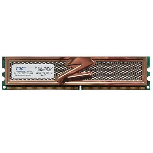 رم دسکتاپ DDR2 تک کاناله 533 مگاهرتز CL4 او سی زد مدل OCZ25331024VP ظرفیت 1 گیگابایت