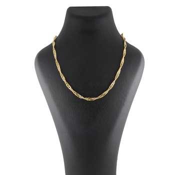 گردنبند طلا 18 عیار زنانه کد G486