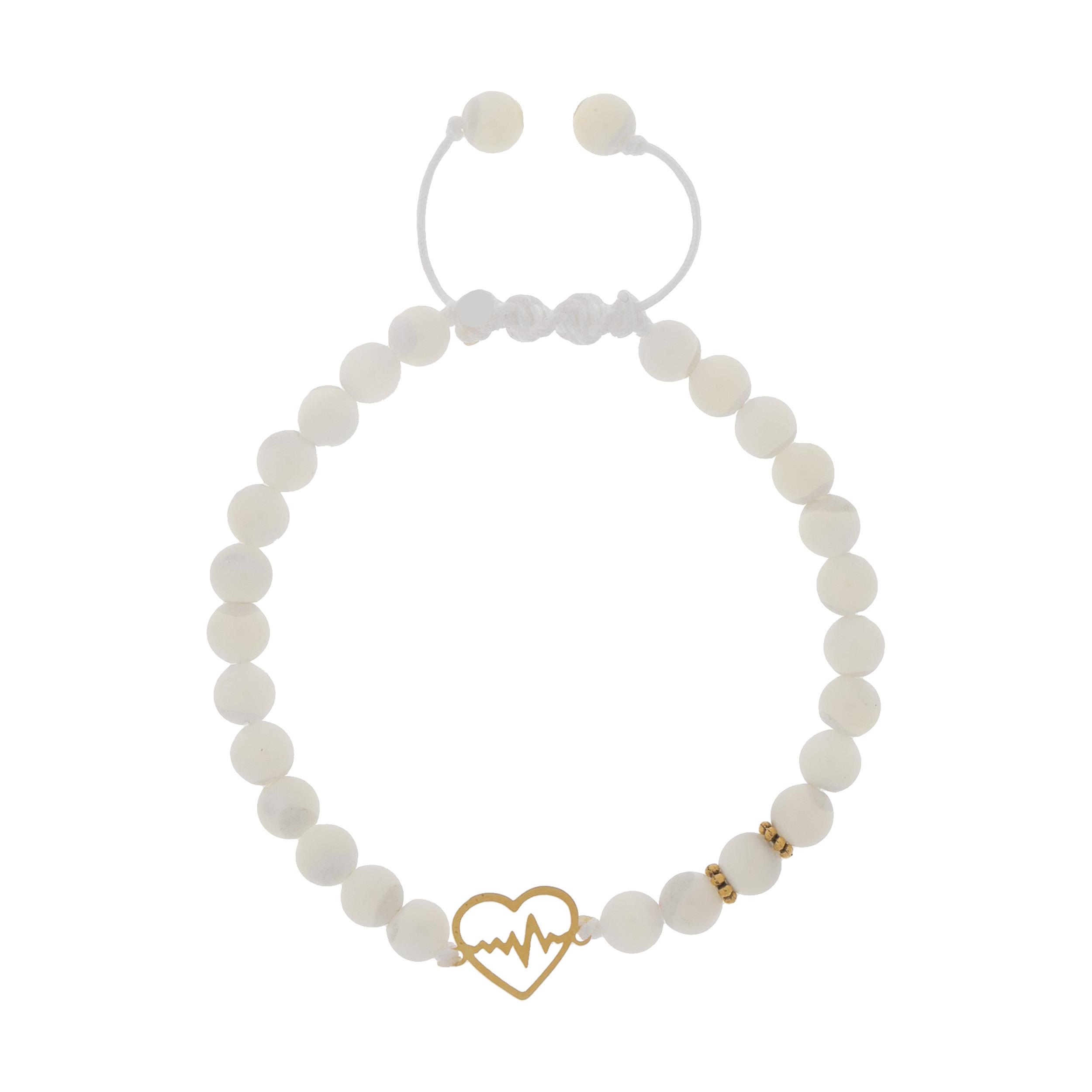 دستبند طلا 18 عیار دخترانه کد 241