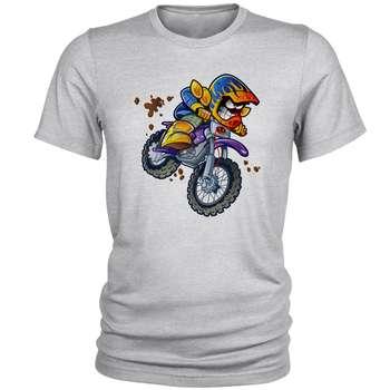 تی شرت مردانه طرح موتور کد B93