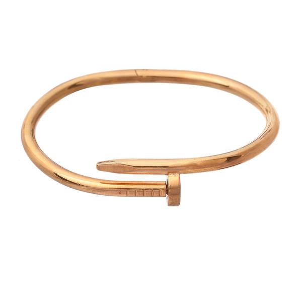 دستبند زنانه طرح میخ کد DA1031