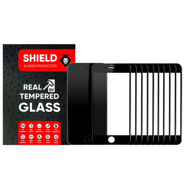 محافظ صفحه نمایش شیلد مدل FG مناسب برای گوشی موبایل اپل iPhone 6s بسته ده عددی