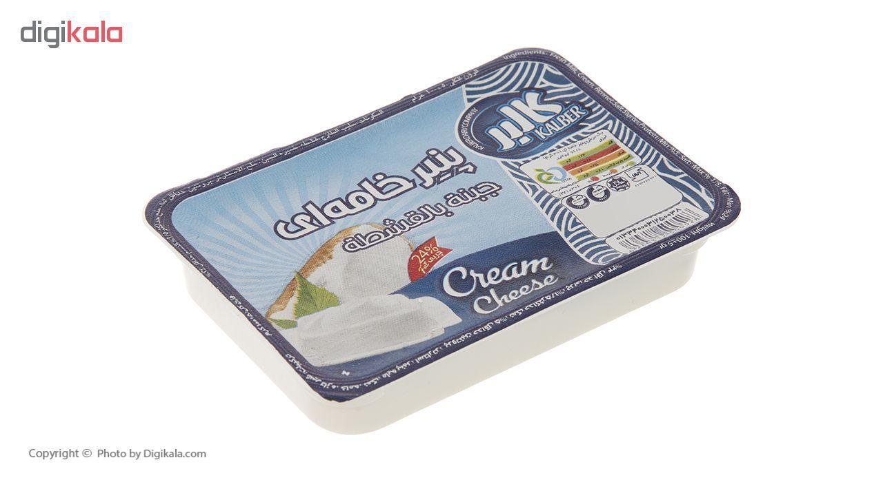 پنیر خامه ای کالبر مقدار 100 گرم main 1 1