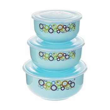 ست ظرف نگهدارنده 3 پارچه ونوس پلاستیک کد 023