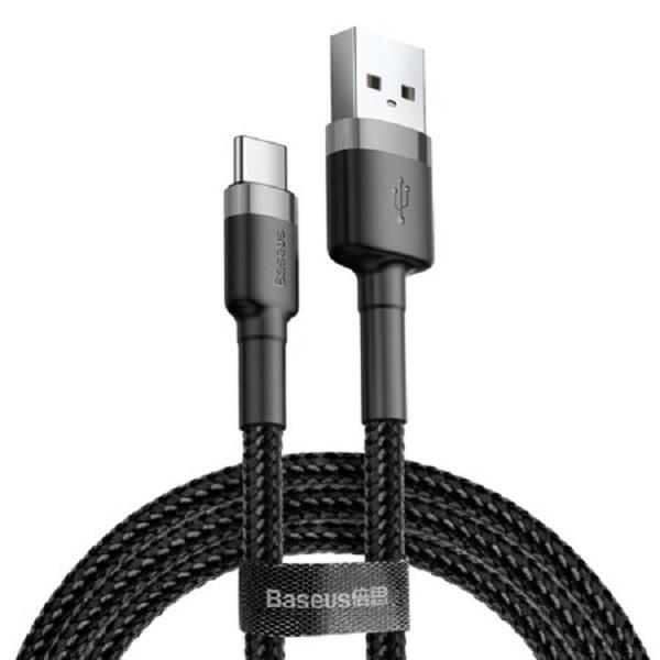 کابل تبدیل USB به USB-C باسئوس مدل Cafule طول 3 متر              ( قیمت و خرید)