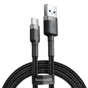 کابل تبدیل USB به USB-C باسئوس مدل Cafule طول 3 متر