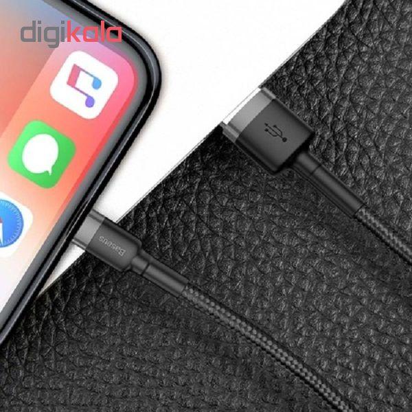 کابل تبدیل USB به لایتنینگ باسئوس مدل CAFULE طول 3 متر main 1 5