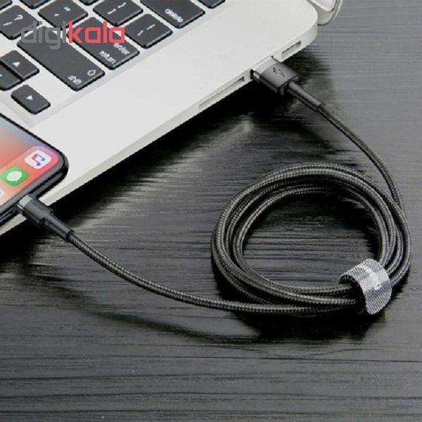 کابل تبدیل USB به لایتنینگ باسئوس مدل CAFULE طول 3 متر main 1 6