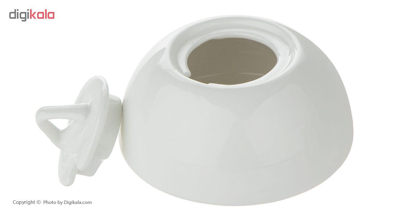 ست کتری و قوری جی فی نی کد G41 به همراه ظرف شیر و شکر