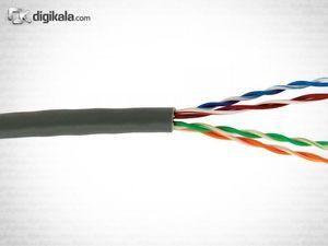 دی لینک کابل شبکه با روکش پی وی سی CAT6 بدون شیلد NCB-C6UGRYR-305