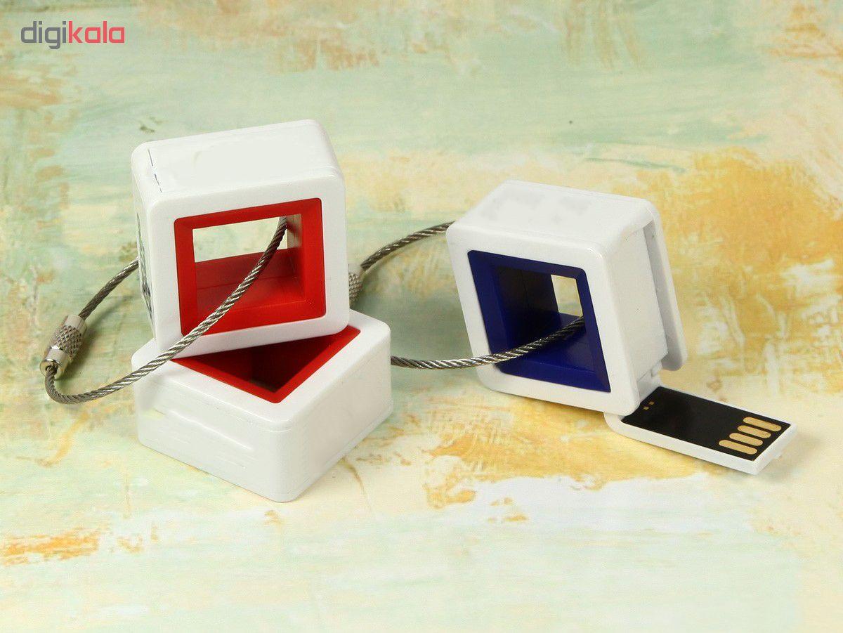 فلش مموری طرح حلقه کیوبیک مدل UP-016 ظرفیت 64 گیگابایت