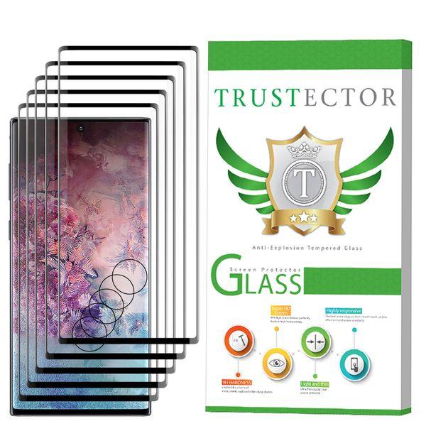 محافظ صفحه نمایش تراستکتور مدل GSS مناسب برای گوشی موبایل سامسونگ Galaxy Note 10 Plus بسته 5 عددی