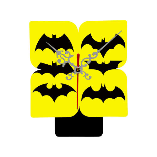 ساعت رومیزی طرح بتمن کد SA-11