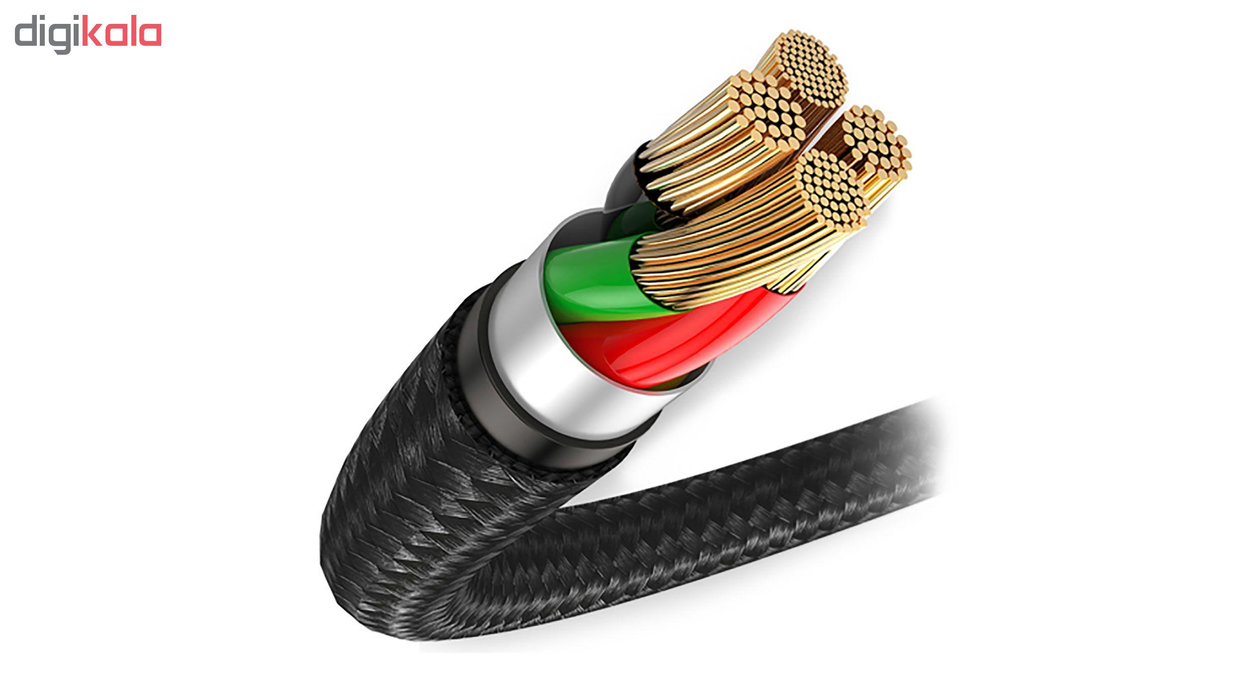 کابل تبدیل USB به microUSB راو پاور مدل RP-CB016 طول 0.9 متر