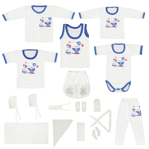 ست 20 تکه لباس نوزادی کد A