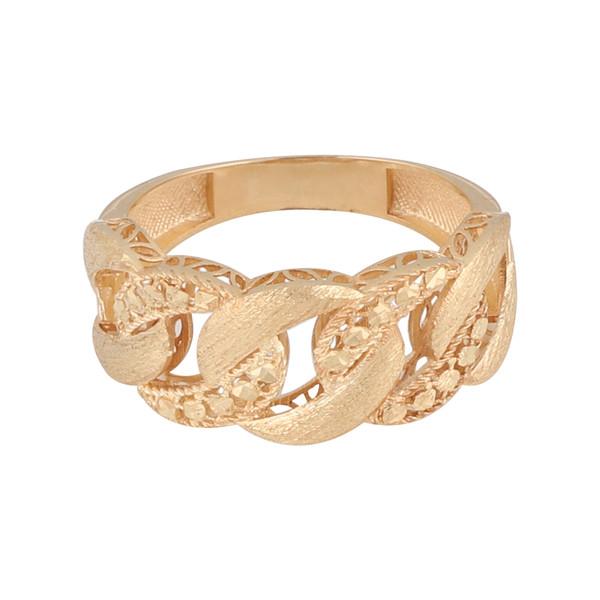 انگشتر طلا 18 عیار زنانه کد G518
