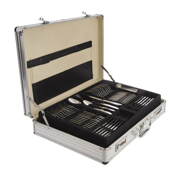سرویس 92 پارچه قاشق و چنگال کارل اشمیت مدل B Sapor طرح جعبه آلومینیومی