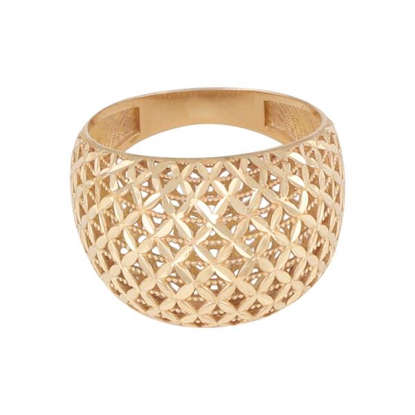 انگشتر طلا 18 عیار زنانه کد G519