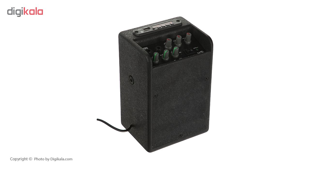 آمپلی فایر قابل حمل اکو غزال مدل G-1000.MP3