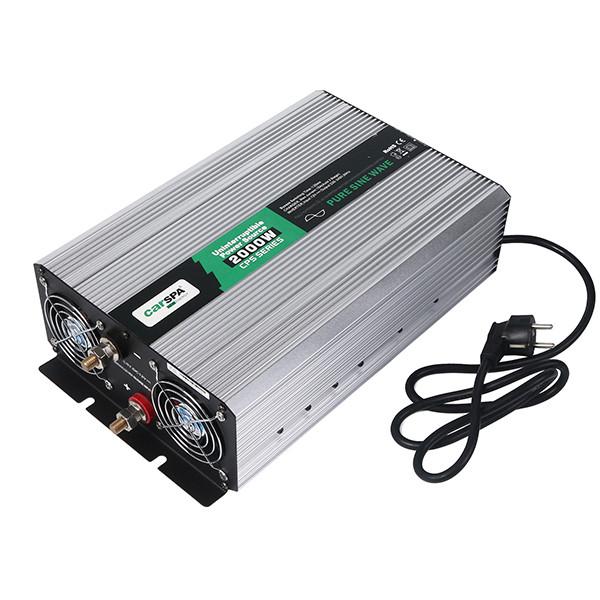 اینورتر شارژر کارسپا مدل CPS 2000-12 ظرفیت 2000 وات