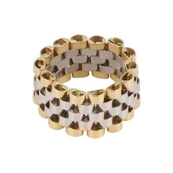 انگشتر طلا 18 عیار زنانه کد G524