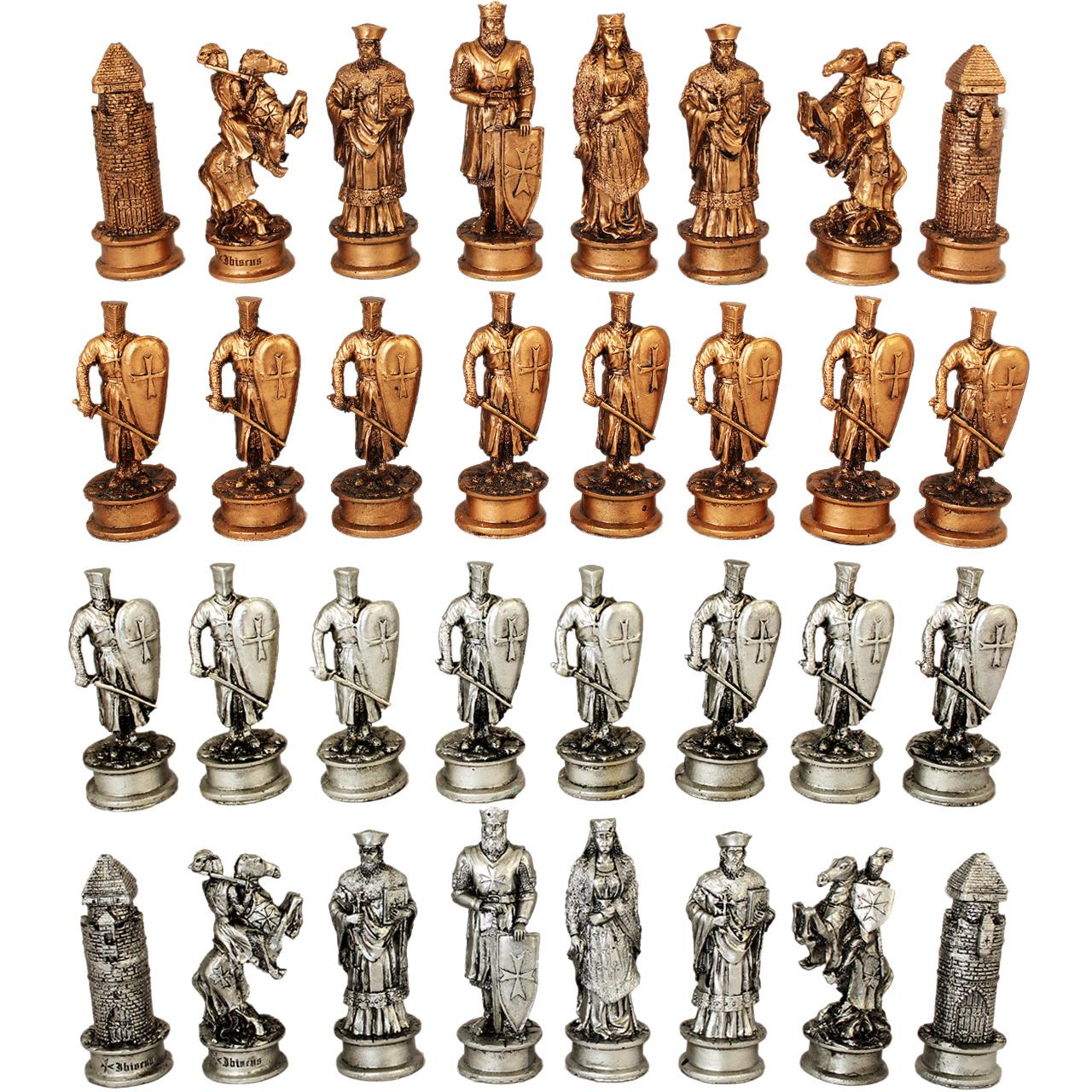 مهره شطرنج مدل صلیبی مجموعه 32 عددی